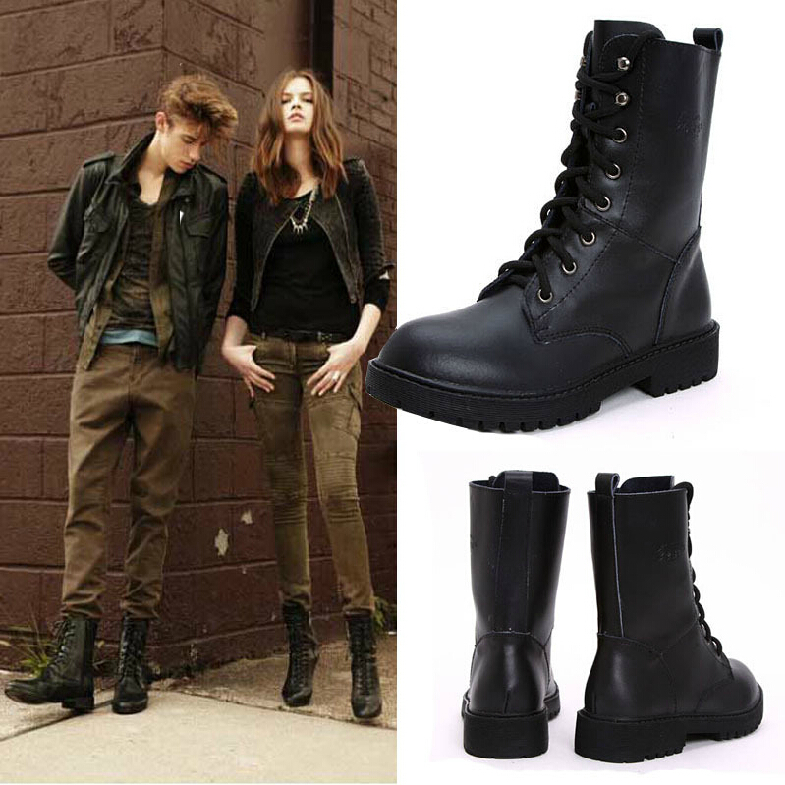 Brilliant Outfits With Combat Boots- 22 Ideas How To Wear Combat Shoes