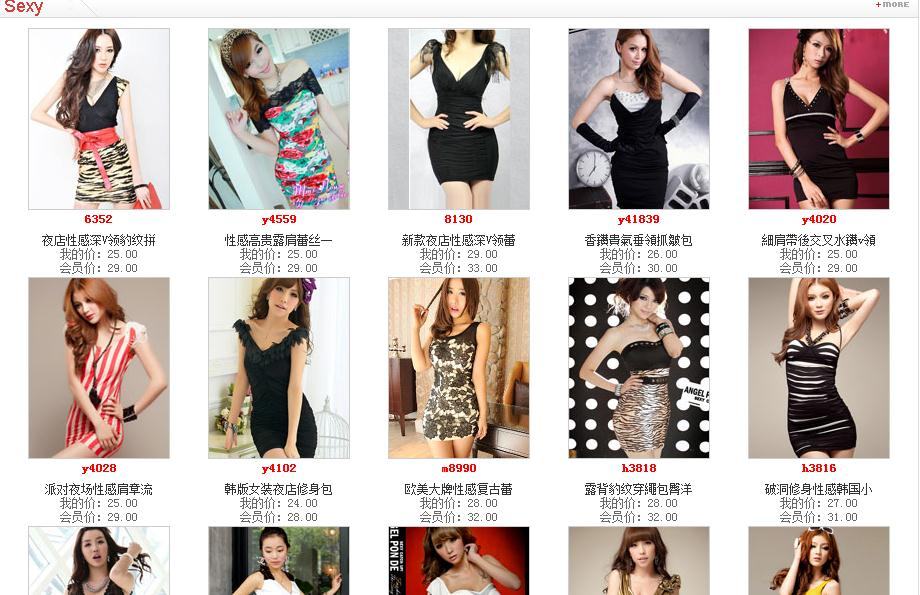 Wholesale clothing in china online