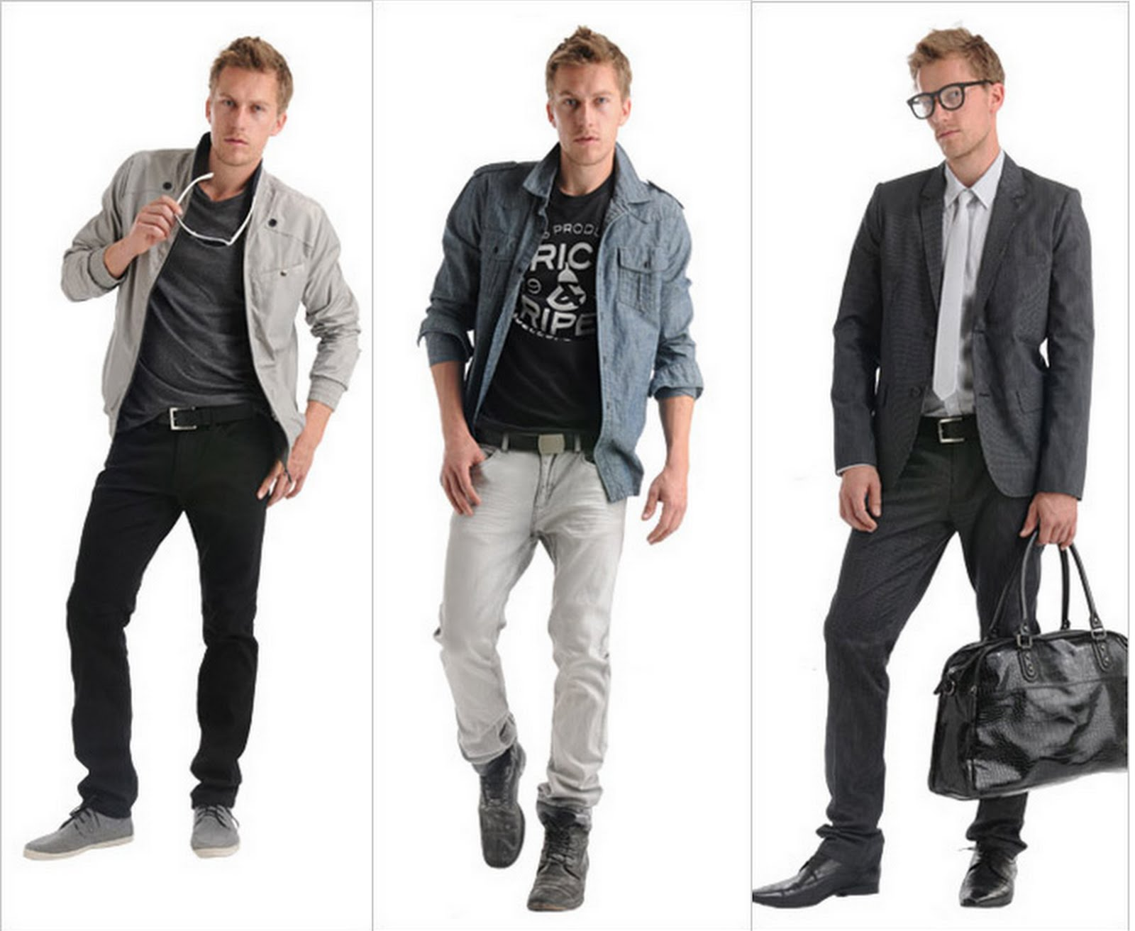 Guylook presents the new cool, sexy and masculine men's apparel with the lowest price ever. Be the first one who discovers a wide selection of men's discount leather jackets,peacoats,jeans,shirts,tees,accessories and a lot more. We bring customers the latest men's fashion trends for an ultimate cool guy look.