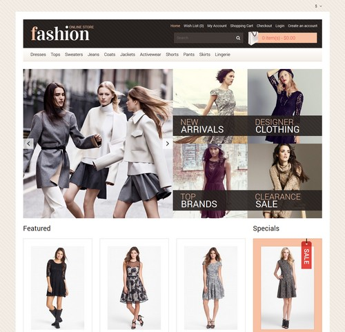 Best clothing online store