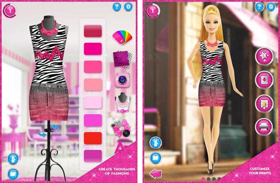 Barbie fashion designer doll game style jeans for Www designer com