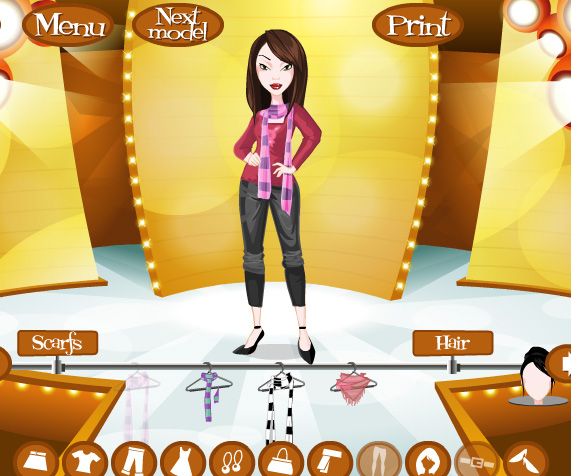 Fashion star game online style jeans Fashion style games online