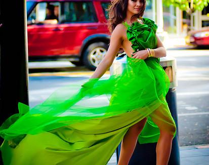 green-fashionista