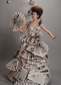 Recycled fashion show ideas