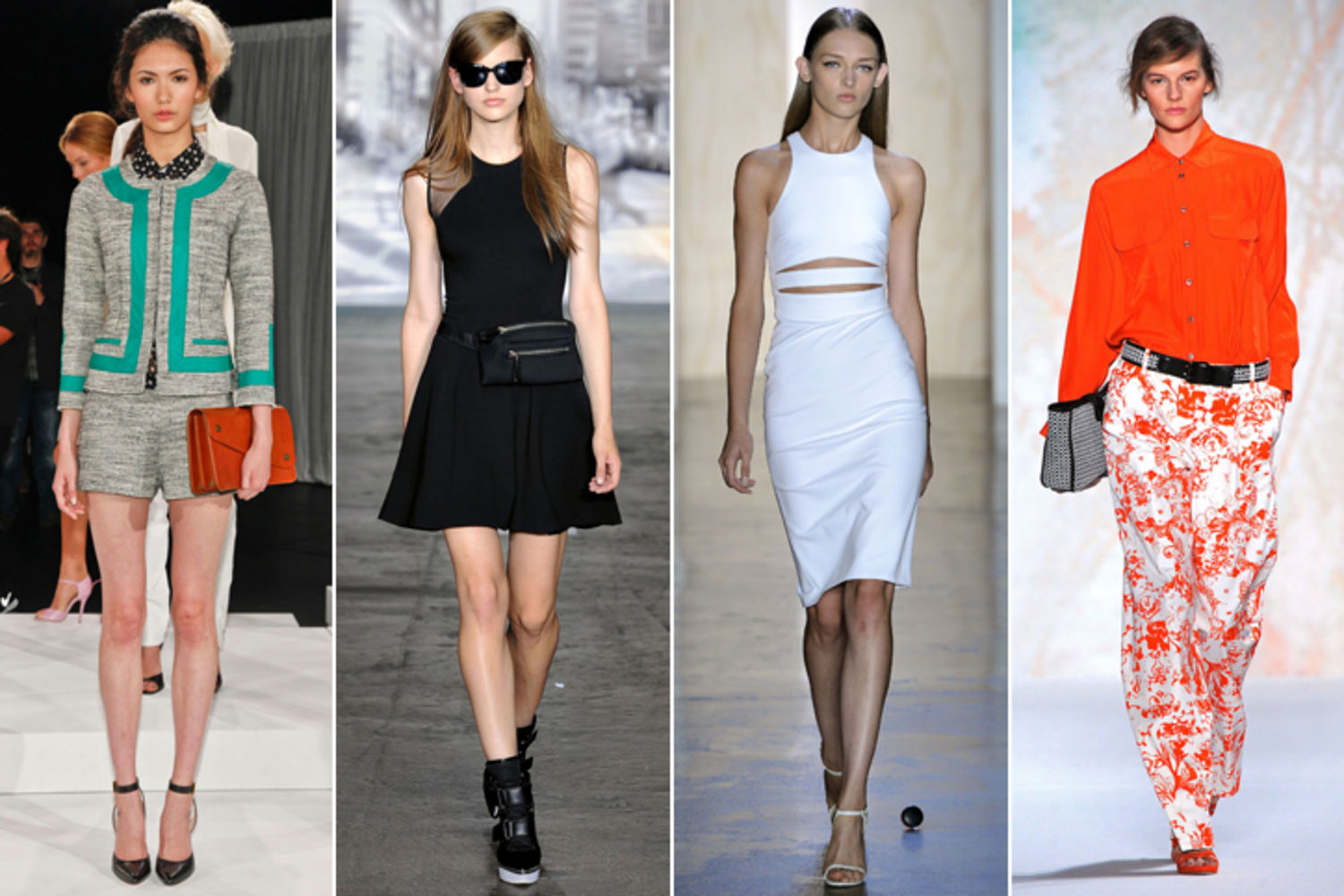 ELLE's fashion experts have rounded up the top must-have fashion trends for spring.
