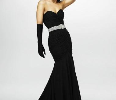 black-evening-dress