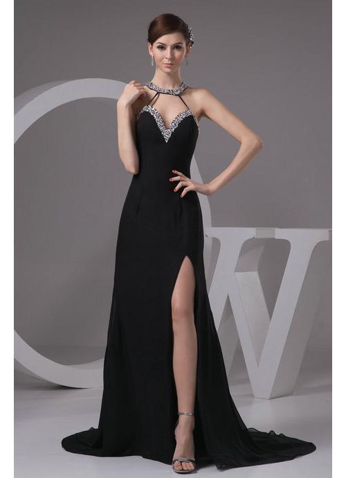 Black evening dress plus size - Style Jeans