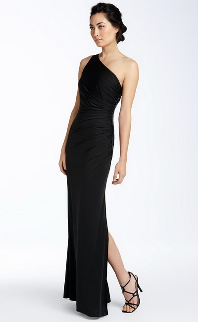 Images of Black Evening Dresses - Reikian