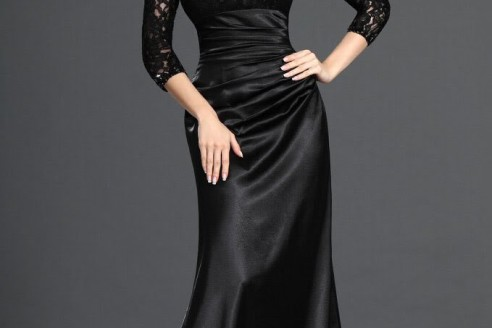 black evening dresses amazon