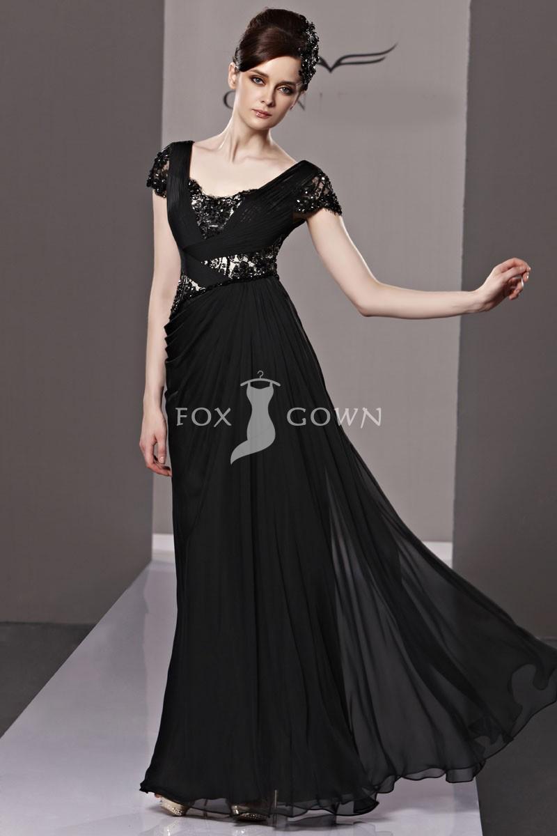 Black evening dresses plus size - Style Jeans