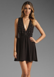 black-party-dress