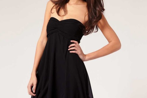 black-party-dress-with-feathers