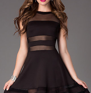 black-party-dress-with-sleeves