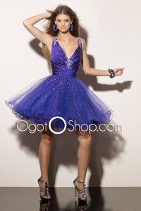 blue party dress 2