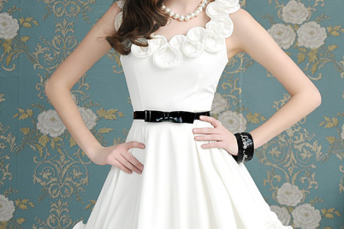 cute-white-dresses-for-bridal-shower