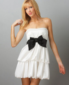 cute-white-dresses-for-graduation