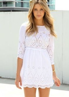 cute-white-dresses-plus-size