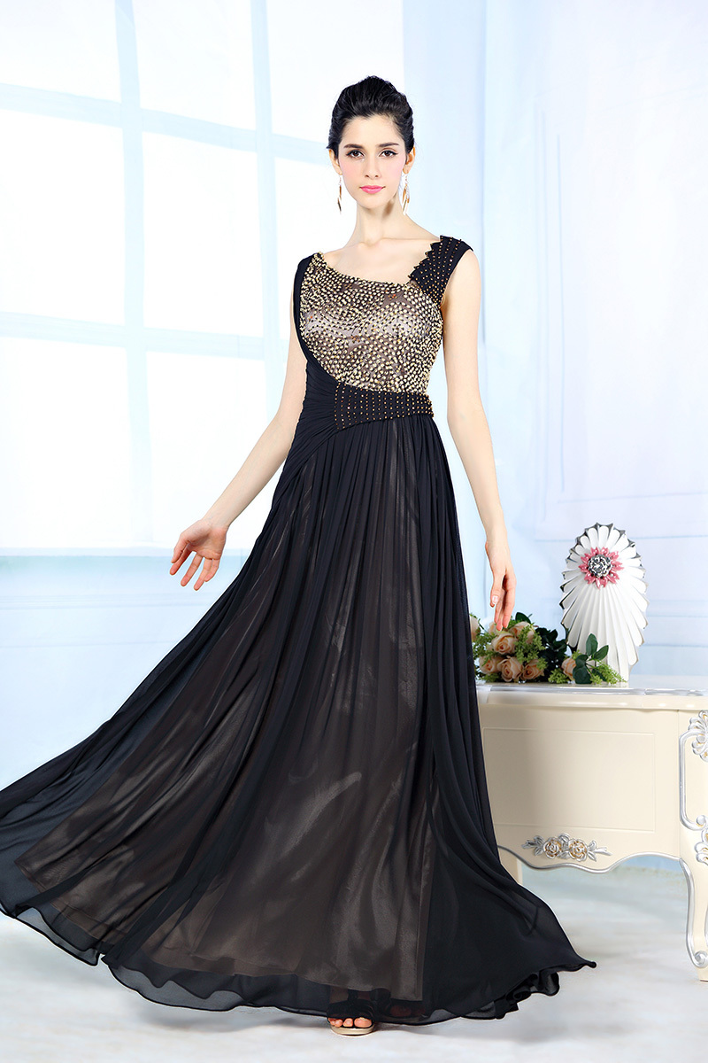Designer Black Evening Dresses Dress Ideas