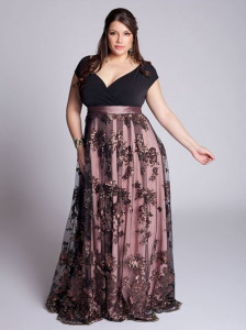 evening dresses plus size petite