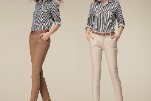 fashion pants and blouses