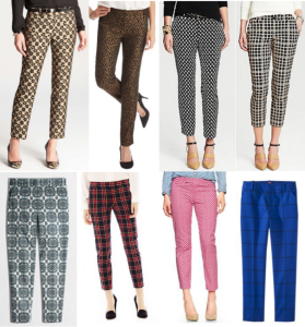 fashion pants and shirts