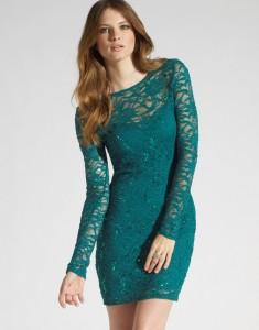 long sleeved dresses formal
