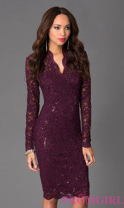 long sleeved dresses target