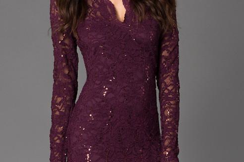 long sleeved dresses target