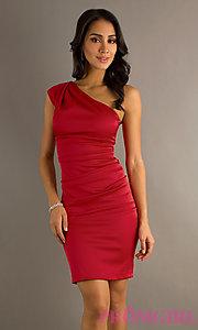 one shoulder dresses body type