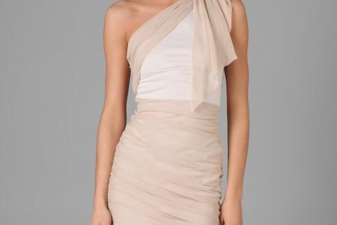 one shoulder dresses cheap