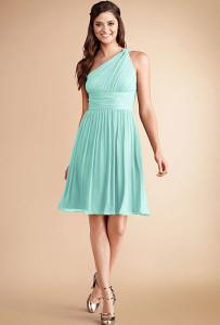 one shoulder dresses for wedding guest