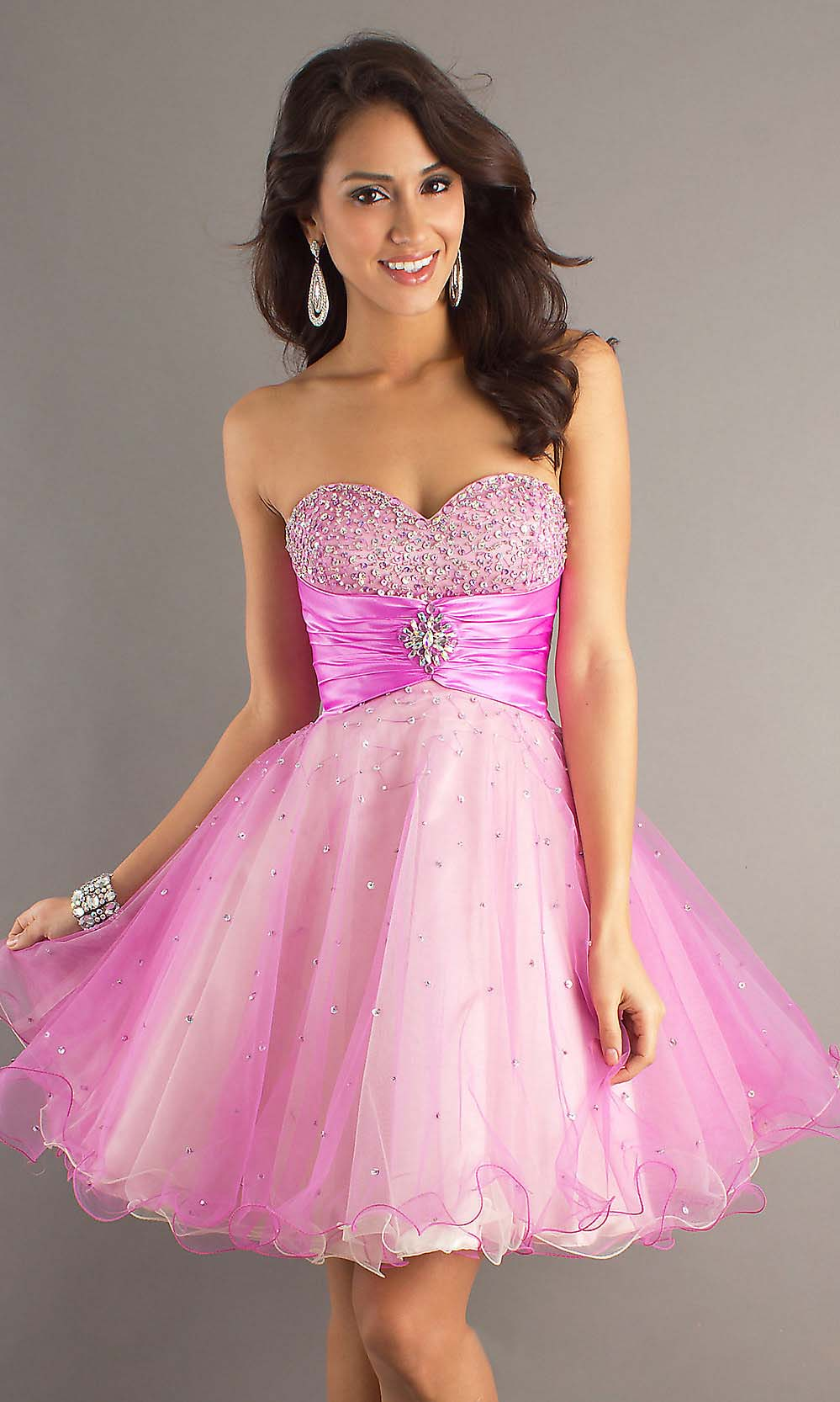 4b80f31ce Hot Pink Party Dresses For Juniors - Dress Foto and Picture