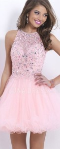 pink party dresses plus size