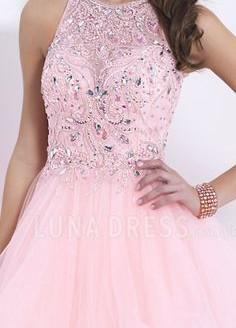 pink party dresses plus size