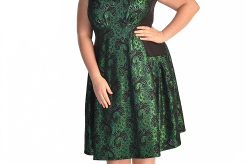 plus size-cocktail-dress-patterns