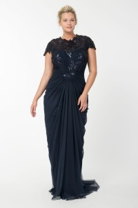 plus size evening dress