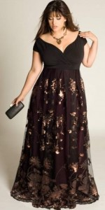 plus size formal dress patterns