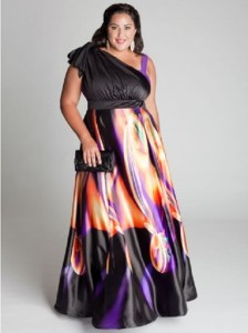 plus size formal dress shops near me