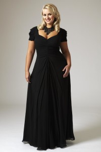 plus size formal dress stores near me
