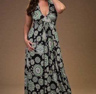 plus size maxi dress patterns
