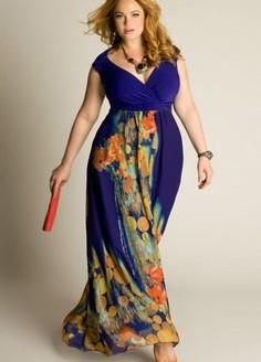 plus size maxi dress sewing pattern