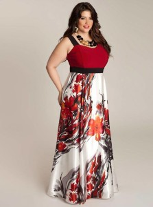 plus size maxi dress with jacket