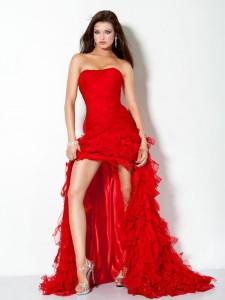 red-evening-dress