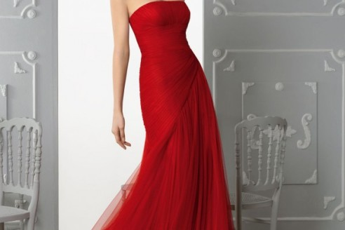 red-evening-dress-knee-length