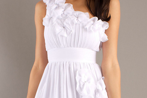 short white dresses for homecoming