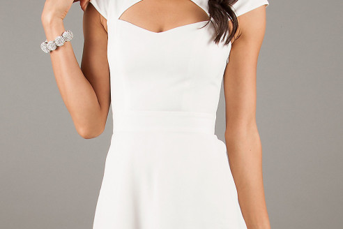 short white dresses for wedding