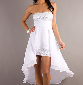 short white dresses with straps