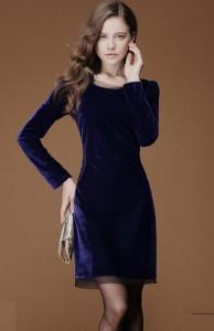 velvet dresses 2016