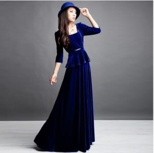 velvet dresses cheap