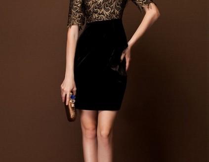 velvet dresses plus size